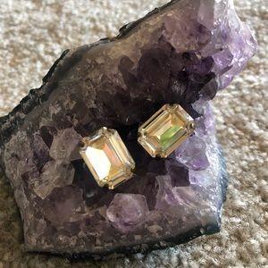 Sorrelli Cirtine Emerald cut Studs